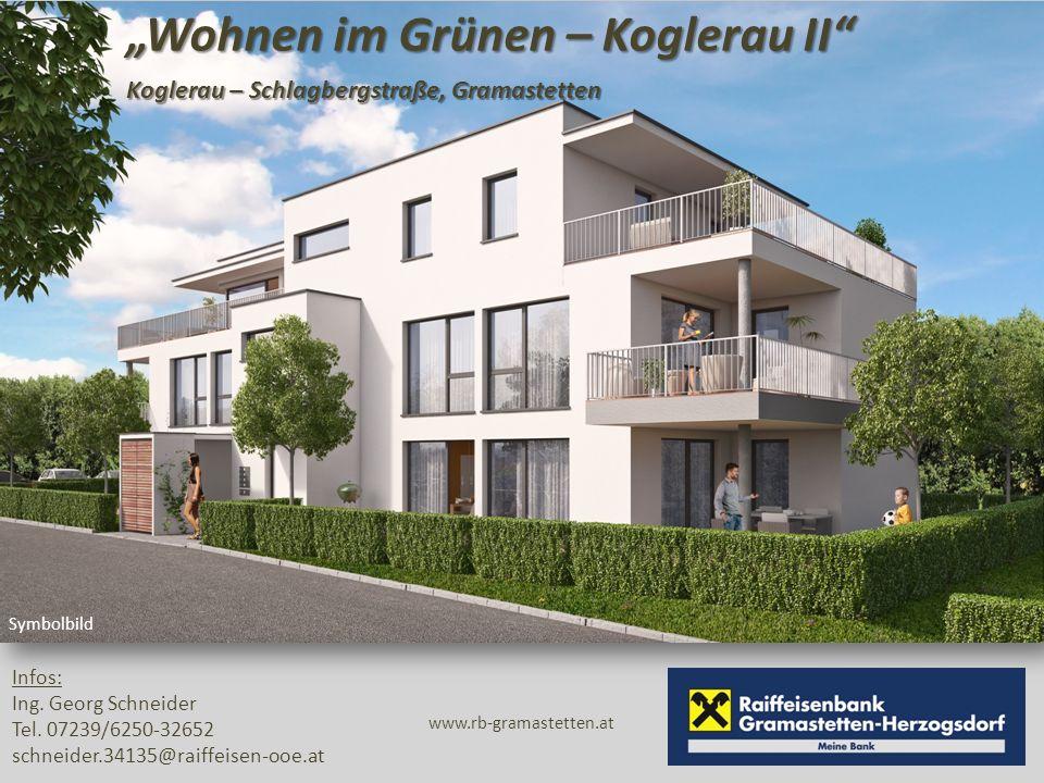 """""""Wohnen im Grünen – Koglerau II Koglerau – Schlagbergstraße, Gramastetten Symbolbild Infos: Ing."""