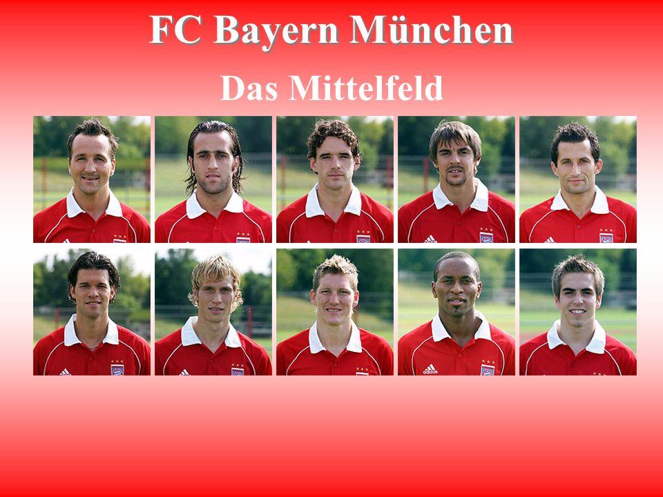 FC Bayern München Das Mittelfeld