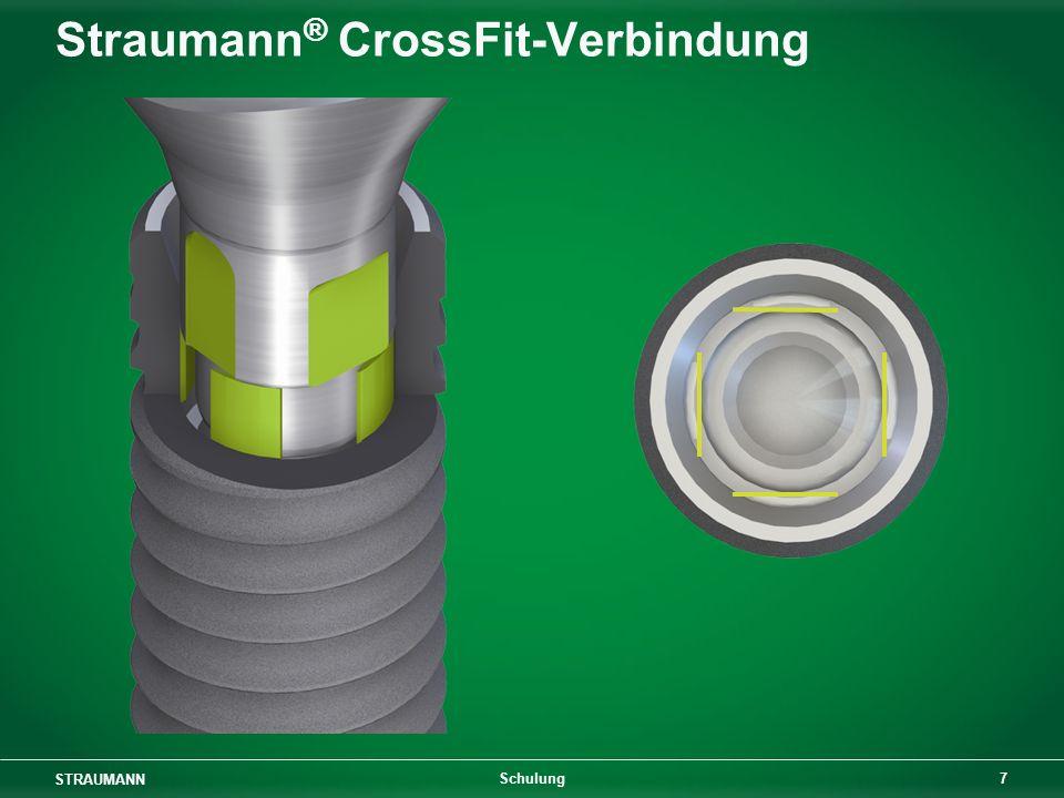 STRAUMANN 7 Schulung Straumann ® CrossFit-Verbindung