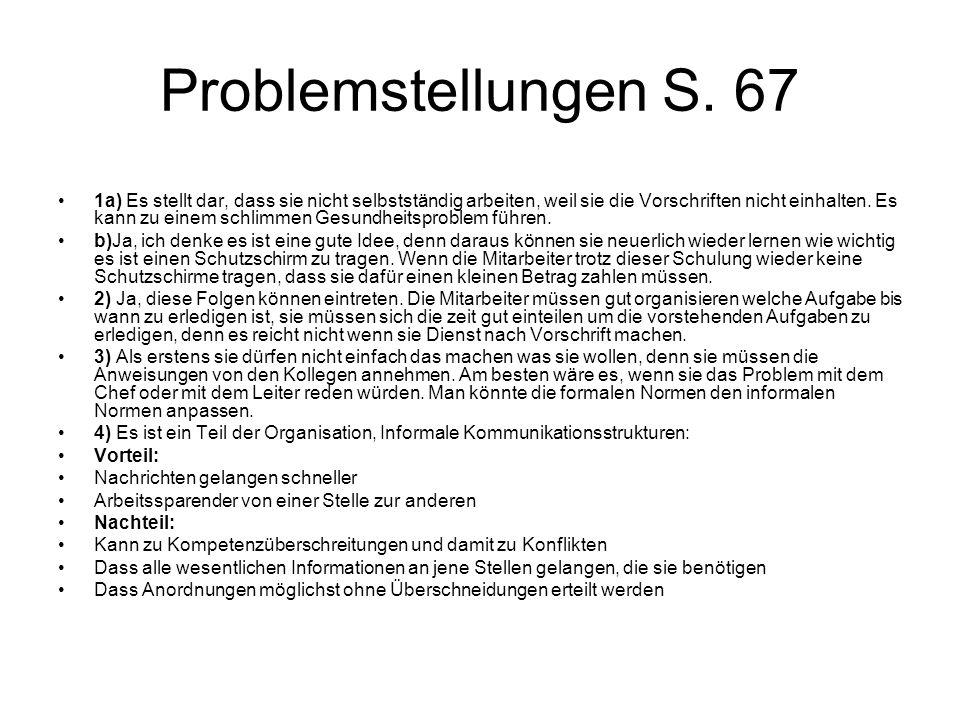 Problemstellungen S.