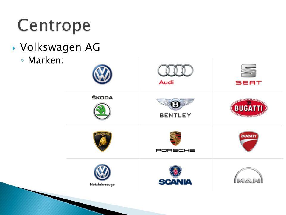  Daimler AG: ◦ 274.616 MA ◦ Umsatz: 117.982 Mio. € ◦ Marken: Mercedes Benz, Daimler Trucks, Freightliner ◦ 2,5 Mio. Auslieferungen pro Jahr