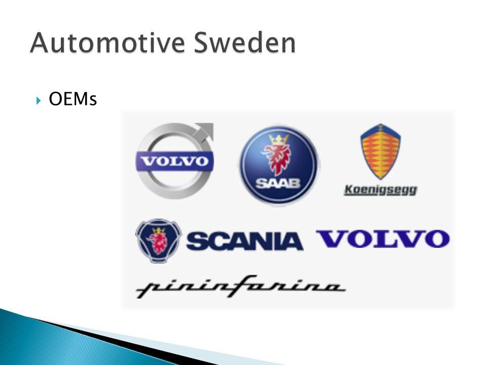 Lage: um Provinz von Västra Götaland  Jeder 3. Job ist abhängig vom Cluster  850.000 Fahrzeuge jährlich  50% der weltweit führenden Zulieferer mi