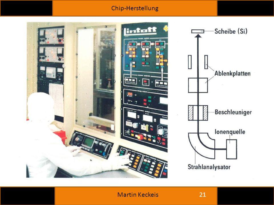 Chip-Herstellung 21 Martin Keckeis