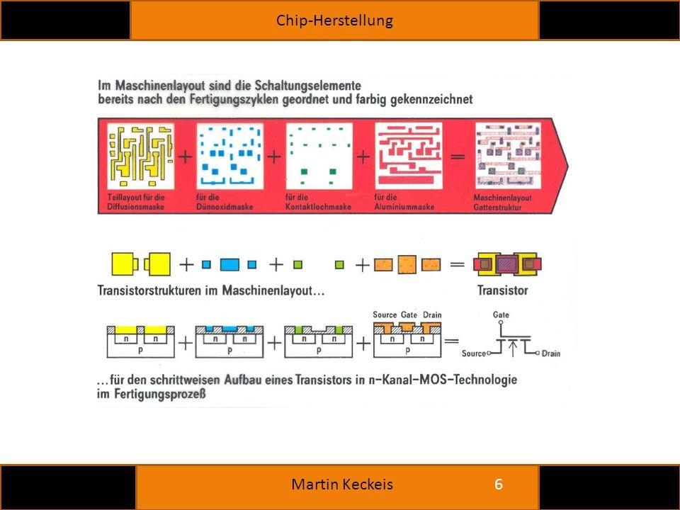 Chip-Herstellung 6 Martin Keckeis