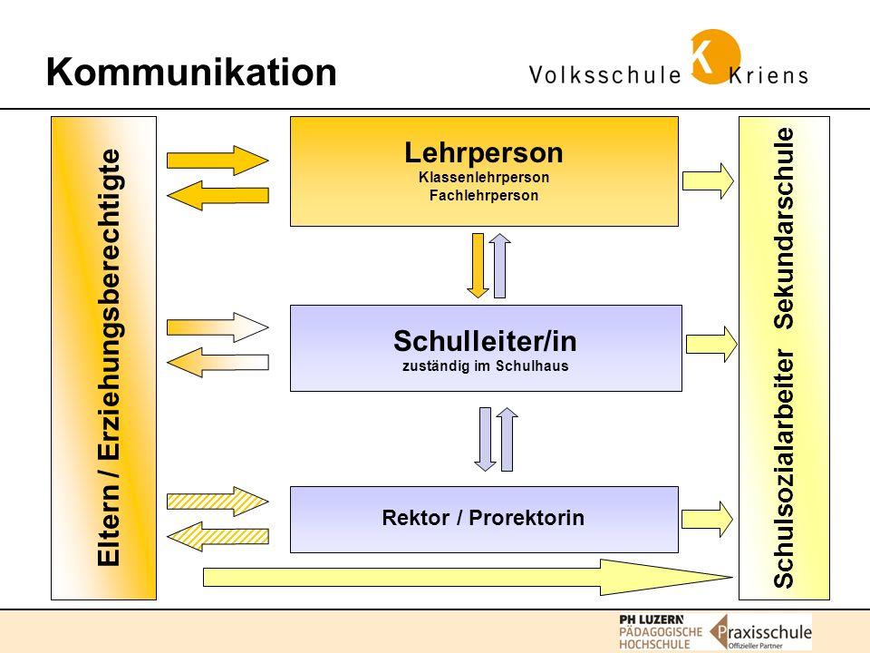Kommunikation Standortbestimmungen November: 1.schriftlicher Zwischenbericht Januar: 1.