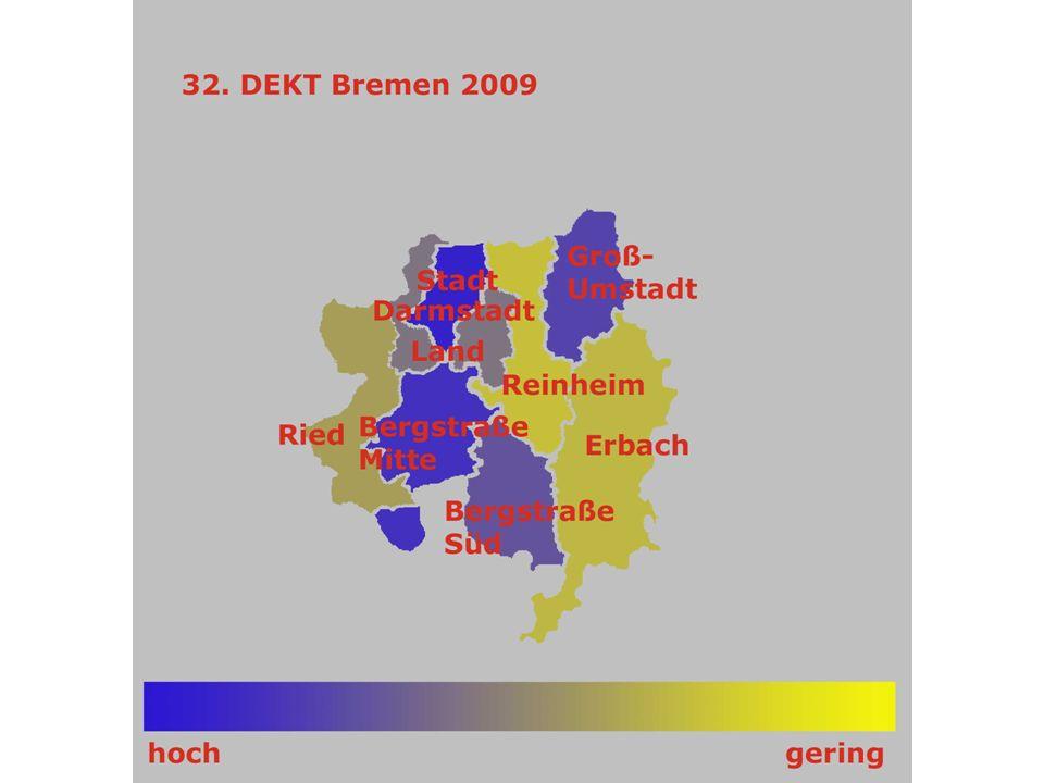 Nord-Nassau 35.DEKT Stuttgart 34.DEKT Hamburg 33.