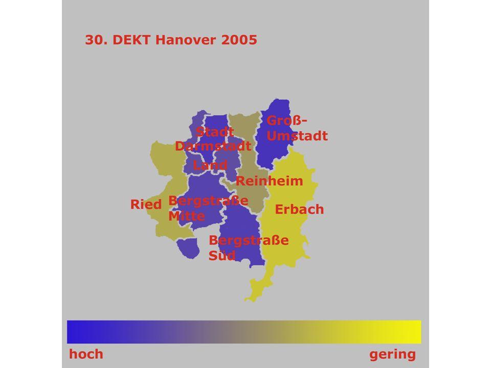 Rhein-Main 35.DEKT Stuttgart 34.DEKT Hamburg 33. DEKT Dresden 32.