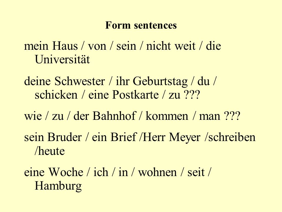 Prepositions with DATIV ausaus außeraußer beibei gegenübergegenüber mitmit nachnach seitseit vonvon zuzu out of / from besides / except near/at/at the house of opposite with to / after since / for from / by / of / about to