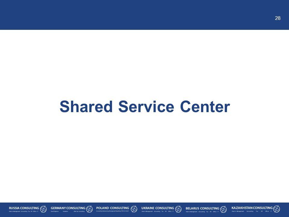 28 Shared Service Center
