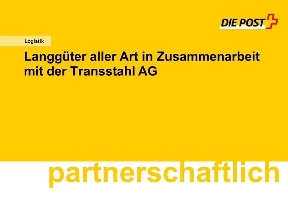 Langgüter aller Art in Zusammenarbeit mit der Transstahl AG partnerschaftlich Logistik