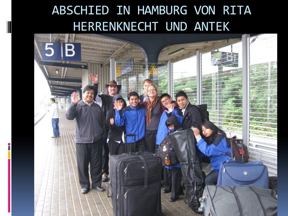 ABSCHIED IN HAMBURG VON RITA HERRENKNECHT UND ANTEK