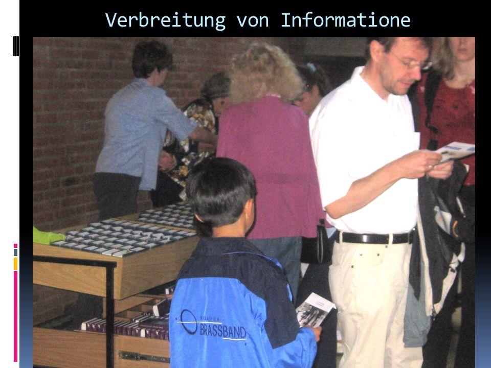 Verbreitung von Informatione