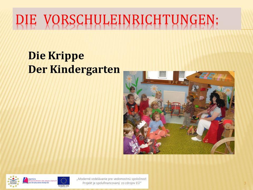 3 Die Krippe Der Kindergarten