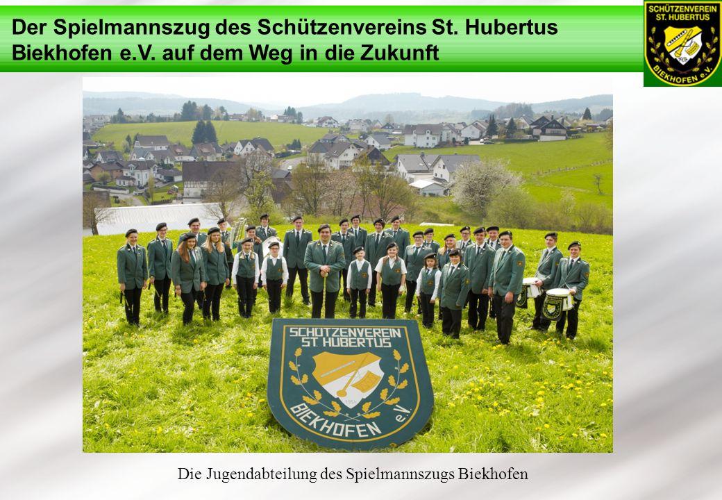 Der Spielmannszug des Schützenvereins St. Hubertus Biekhofen e.V. auf dem Weg in die Zukunft Die Jugendabteilung des Spielmannszugs Biekhofen