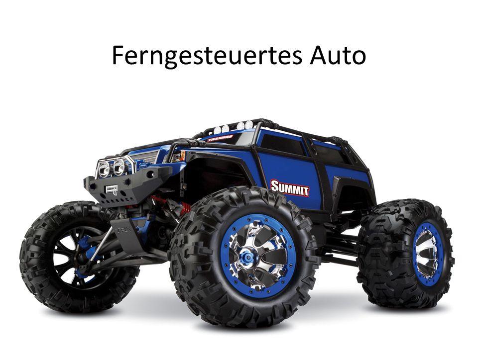 Übersicht Geländewagen Strassenauto Motoren RC-Trucks