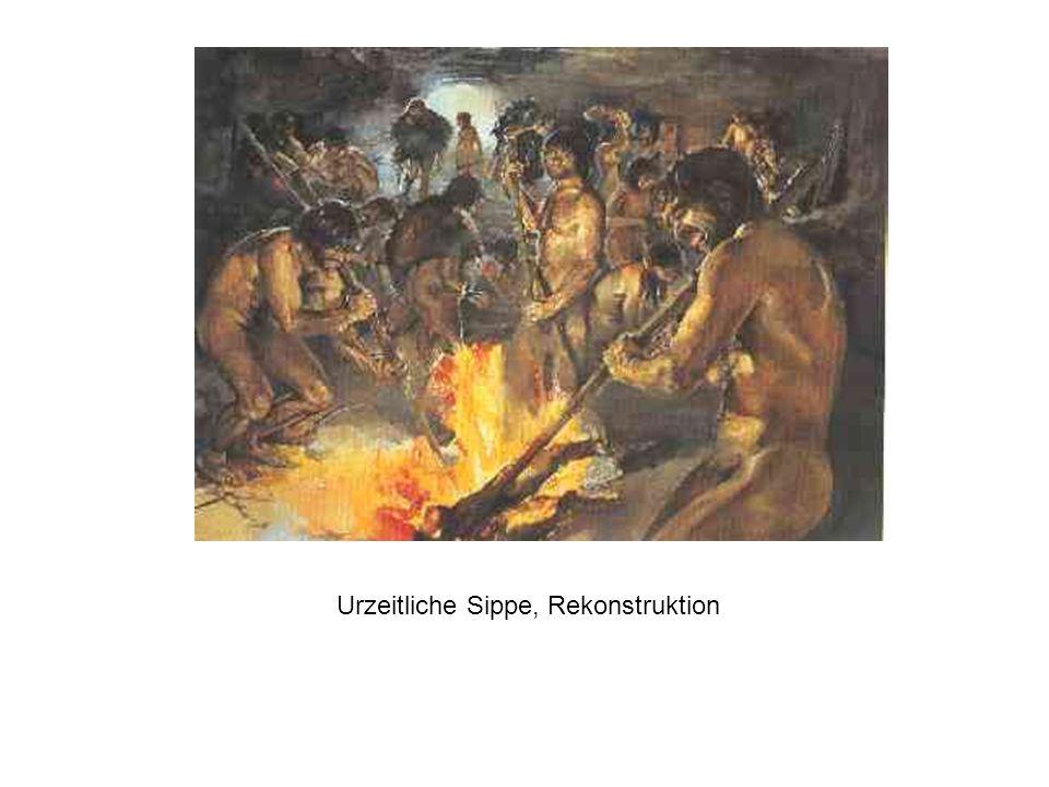 Urzeitliche Sippe, Rekonstruktion