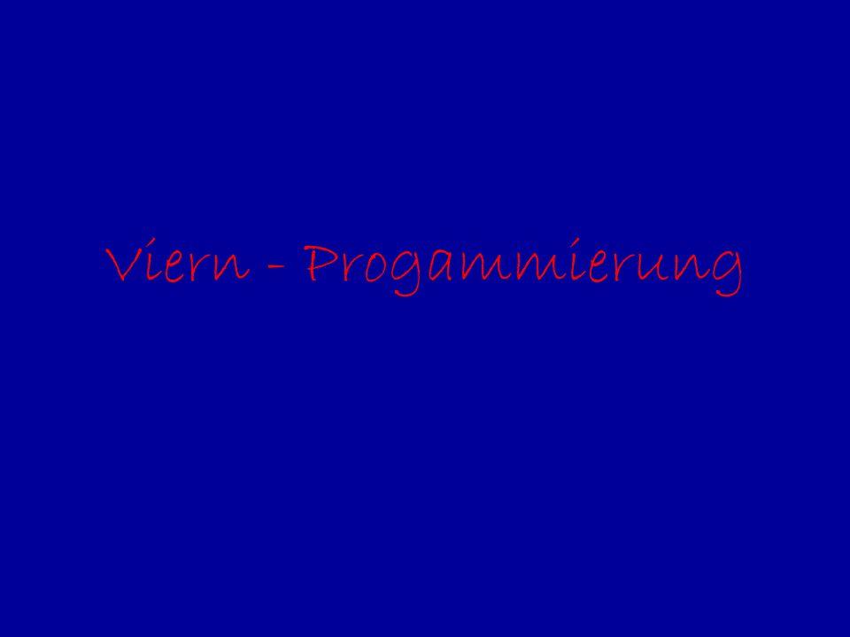Viern - Progammierung
