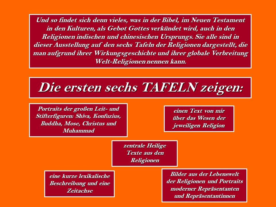 Und so findet sich denn vieles, was in der Bibel, im Neuen Testament in den Kulturen, als Gebot Gottes verkündet wird, auch in den Religionen indische