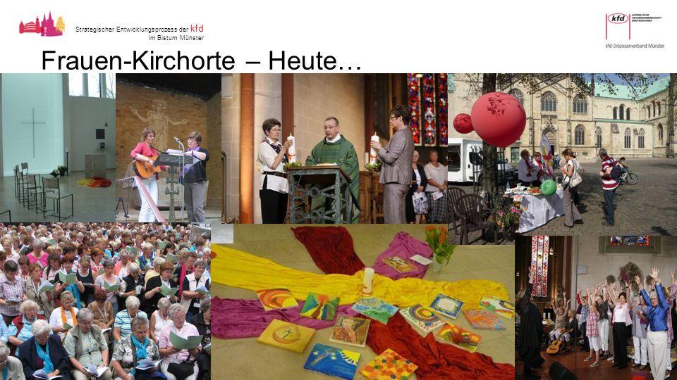 Strategischer Entwicklungsprozess der kfd im Bistum Münster Frauen-Kirchorte – Heute…