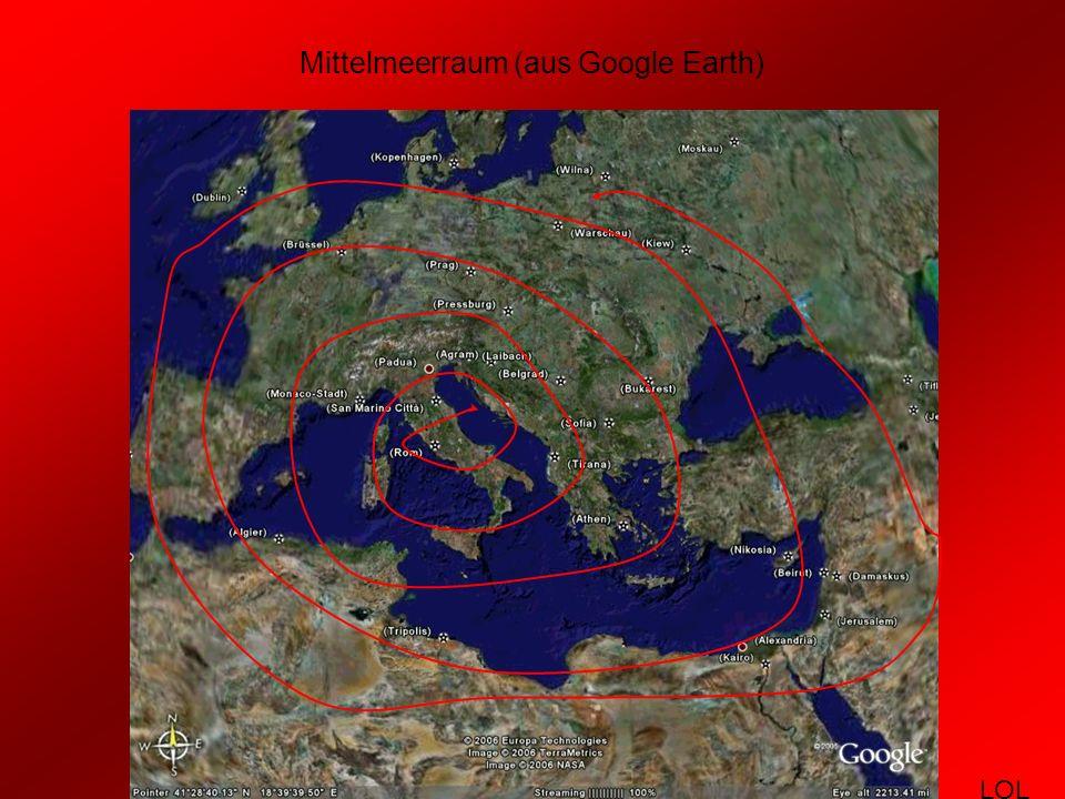 Das römische Imperium zur Zeit seiner größten Ausdehnung (um 117 n.Chr.) LOL