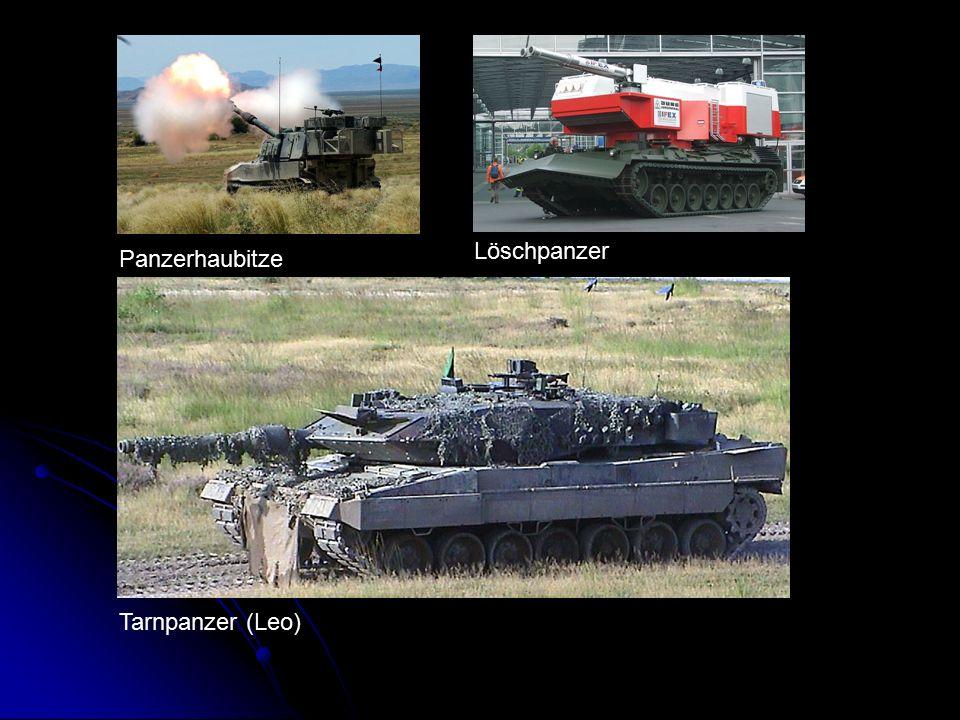 Panzerhaubitze Löschpanzer Tarnpanzer (Leo)
