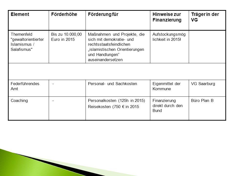  Zivilgesellschaft in der VG Saarburg stärken.