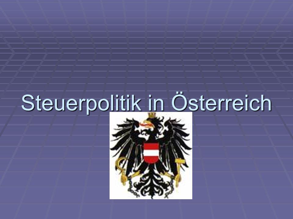 Steuerpolitik in Österreich