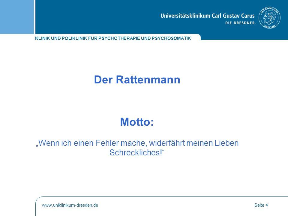 KLINIK UND POLIKLINIK FÜR PSYCHOTHERAPIE UND PSYCHOSOMATIK www.uniklinikum-dresden.deSeite 15 SKID: Strukturiertes Kl.