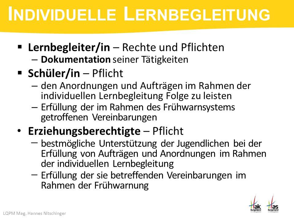 LQPM Mag.Hannes Nitschinger  Aufsteigen bei max.