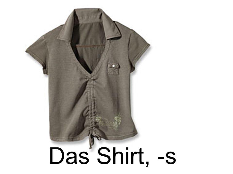 Das Shirt, -s