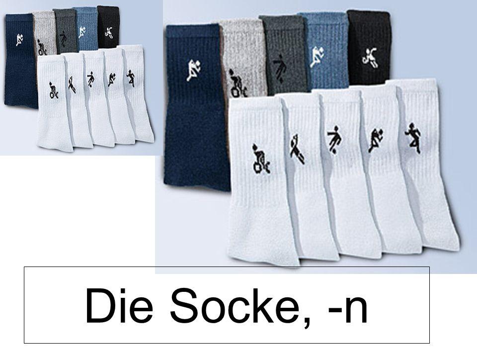 Die Socke, -n