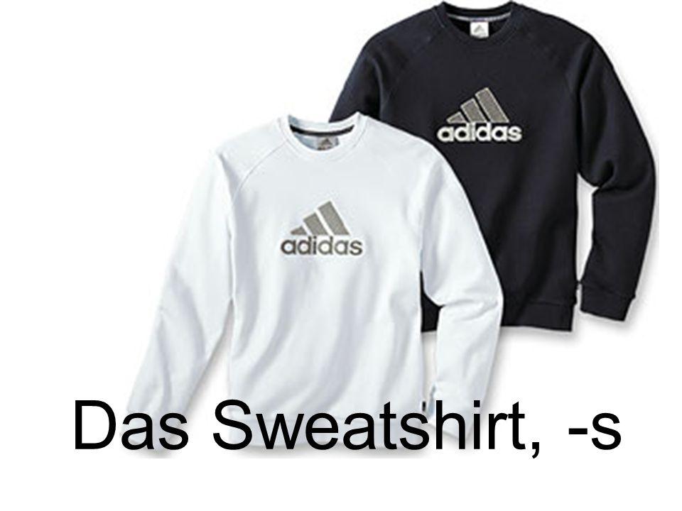 Das Sweatshirt, -s