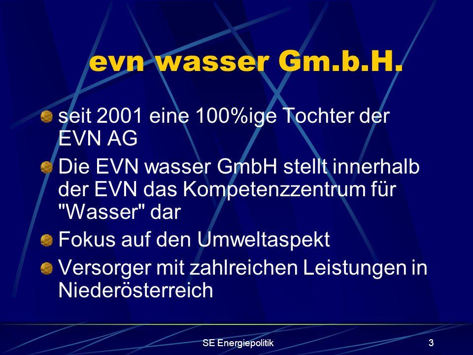 SE Energiepolitik3 evn wasser Gm.b.H.