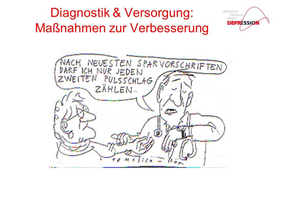 Diagnostik & Versorgung: Maßnahmen zur Verbesserung