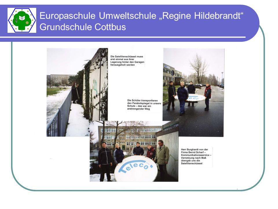 "Europaschule Umweltschule ""Regine Hildebrandt Grundschule Cottbus"