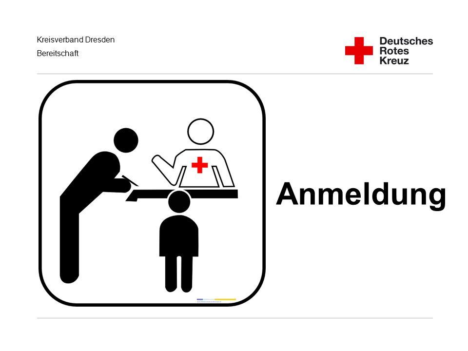 Kreisverband Dresden Bereitschaft Anmeldung