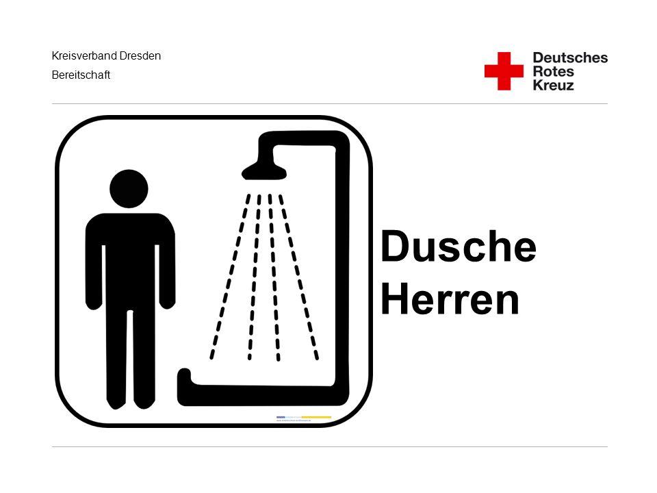 Kreisverband Dresden Bereitschaft Dusche Herren