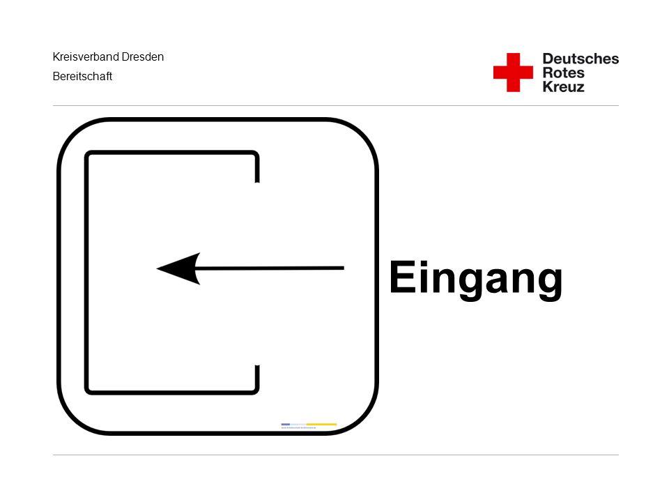 Kreisverband Dresden Bereitschaft Eingang
