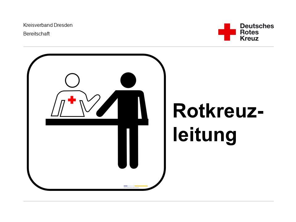 Kreisverband Dresden Bereitschaft Rotkreuz- leitung