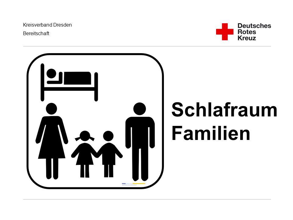 Kreisverband Dresden Bereitschaft Schlafraum Familien