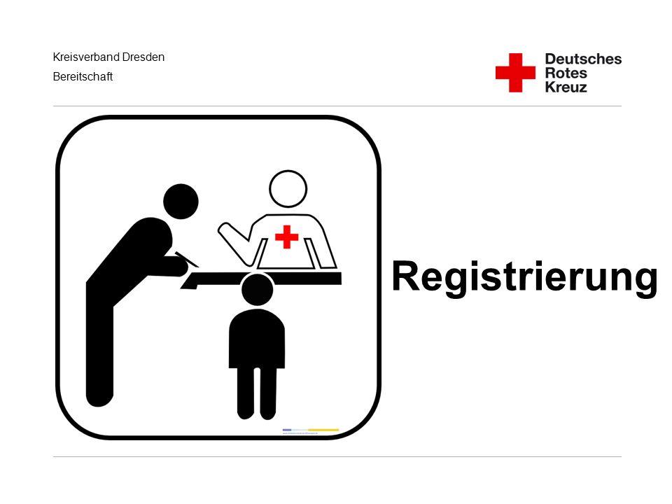 Kreisverband Dresden Bereitschaft Registrierung