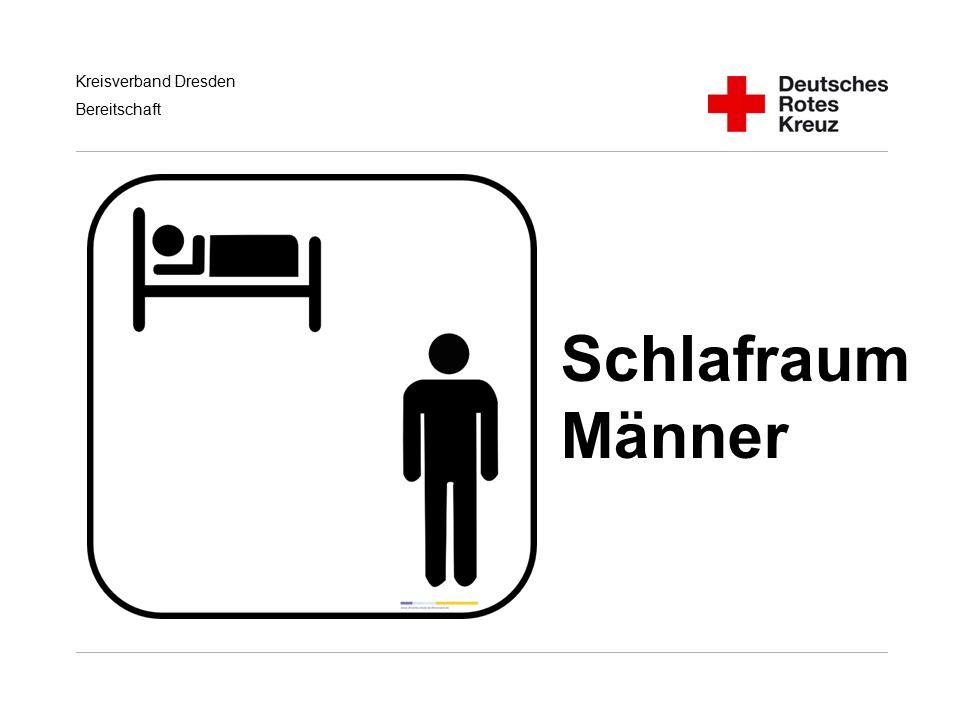 Kreisverband Dresden Bereitschaft Schlafraum Männer