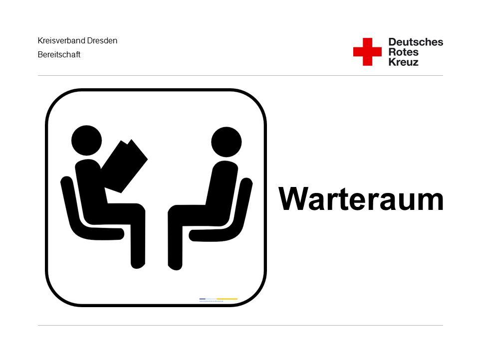 Kreisverband Dresden Bereitschaft Warteraum