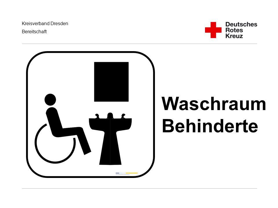 Kreisverband Dresden Bereitschaft Waschraum Behinderte