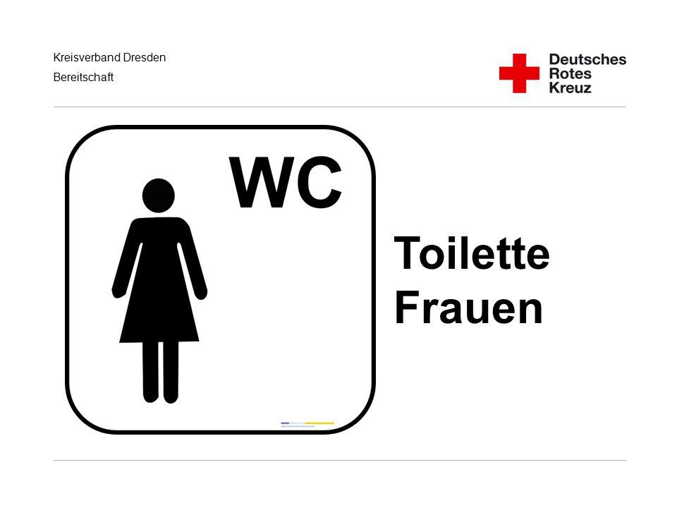 Kreisverband Dresden Bereitschaft Toilette Frauen