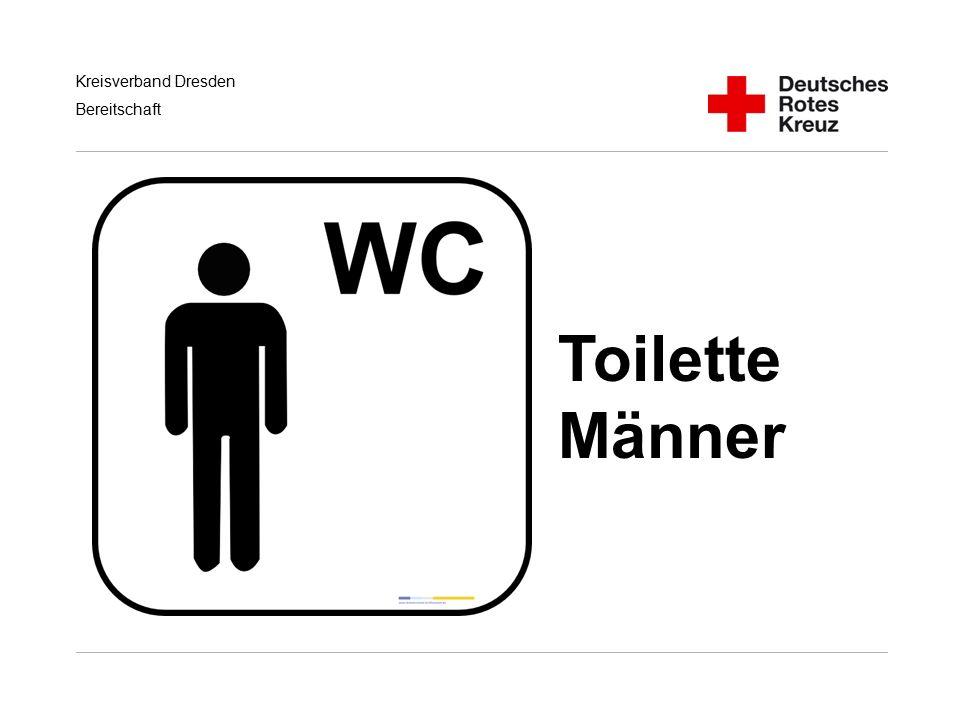 Kreisverband Dresden Bereitschaft Toilette Männer