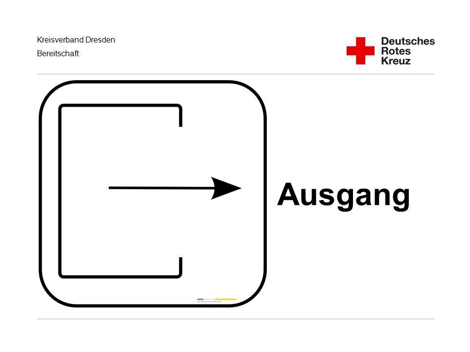 Kreisverband Dresden Bereitschaft Ausgang