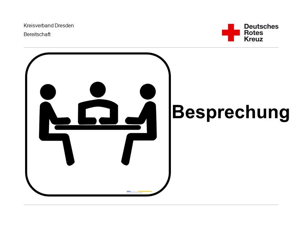 Kreisverband Dresden Bereitschaft Besprechung