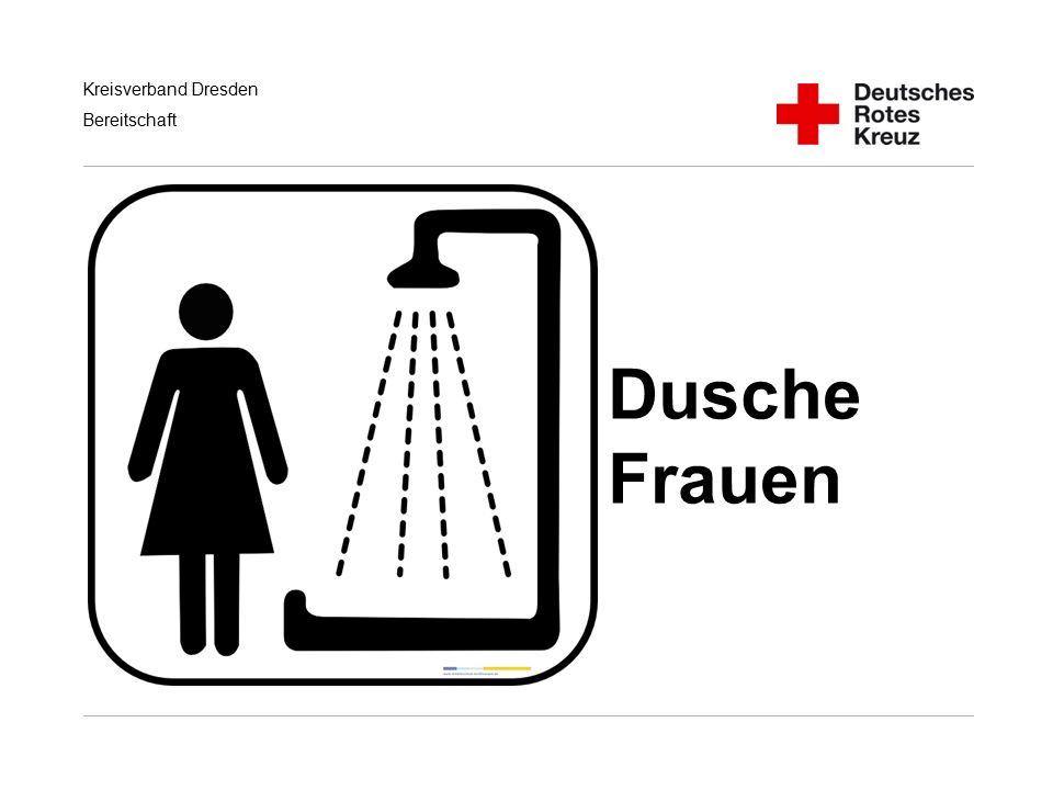 Kreisverband Dresden Bereitschaft Dusche Frauen