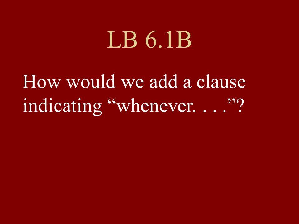 Bis Montag: LB 6.1 G: 8 Sätze – Use models.Ich fahre mit dem Auto, wenn ich meine Eltern besuche.